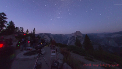 SCAC at Glacier Point, Yosemite. August 26 & 27th, 2016.