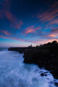 Point Santa Cruz Sunset