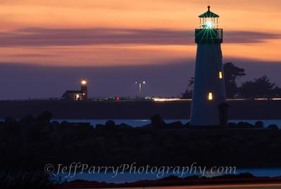 Santa Cruz Lighthouses