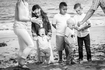Seabright Beach Santa Cruz Family Photos - by Bay Area portrait photographer Chris Schmauch