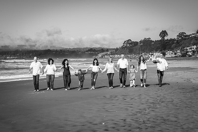 Seascape Aptos Multi-Generation Family Photography - by Bay Area family portrait photographer Chris Schmauch