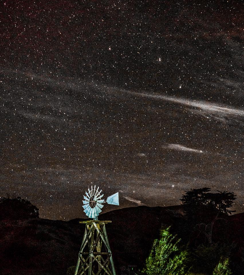 Windmill on Santa Cruz Island