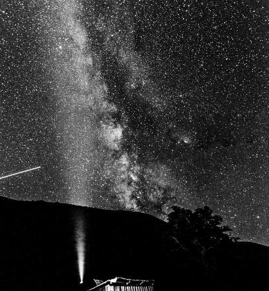Milky Way- B&W