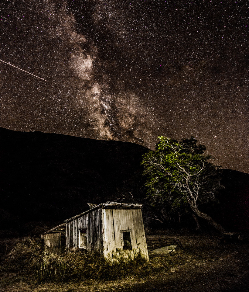 Milky Way on Santa Cruz Island