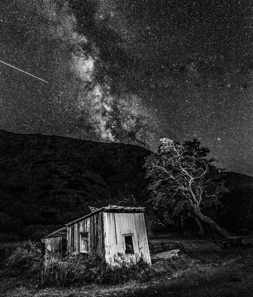 Milky Way on Santa Cruz Island