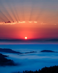 Smokey Sunrise
