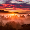 Santa Cruz Mountain Sunrise