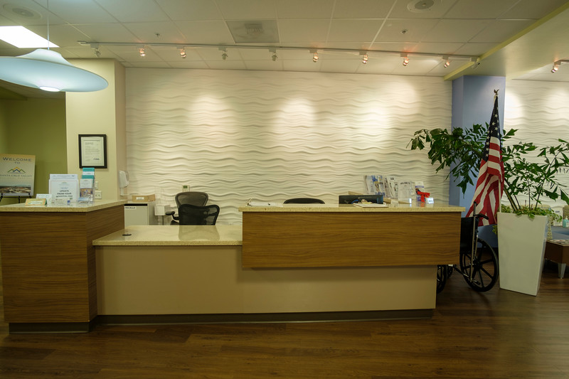 Front Lobby desk