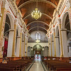 Interiors of the cathedral in Santa Cruz, Bolivia
