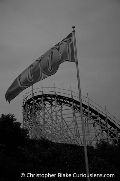 Roller Coaster and Flag
