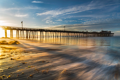 Sunrise at Capitola Wharf