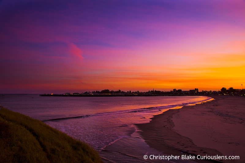 Sunset over Pier.psd