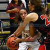 Championship game of the Capital City Invitational girl's basketball game between the Santa Fe Indian School and Portales High School played at Toby Roybal Memorial Gymnasium, Santa Fe High, Friday, December 9, 2016. Clyde Mueller/The New Mexican
