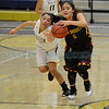 Semifinals of the Capital City Invitational girl's basketball game between the Santa Fe Indian School and Belen High School played at Toby Roybal Memorial Gymnasium, Santa Fe High, Friday, December 9, 2016. Clyde Mueller/The New Mexican