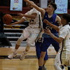 The first quarter of the Santa Fe Indian School vs East Mountain High School at Santa Fe Indian School on Feb 20, 2018. Luis Sánchez Saturno/The New Mexican