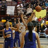 The second quarter of the Santa Fe Indian School vs Socorro High School at Santa Fe Indian School on Friday, Mar 2, 2018. Luis Sánchez Saturno/The New Mexican