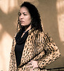 Sage, Leopard Skin Coat, Santa Fe, NM