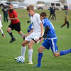 Boys, class A/4A New Mexico High School state semi final soccer match between Santa Fe Prep and Socorro at the New Mexico Soccer Tournament Complex in Bernalillo Friday, November 4, 2016. Clyde Mueller/The New Mexican