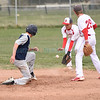 Santa Fe Prep vs Monte del Sol baseball game played Tuesday, April 11, 2017 at the Municipal Recreation Complex. Clyde Mueller/The New Mexico