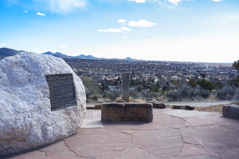 Overview of Santa Fe internment camp