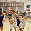 The first quarter of the Santa Fe High School vs Manzano High School at Capital High School on Monday, February 25, 2019. Luis Sánchez Saturno/The New Mexican