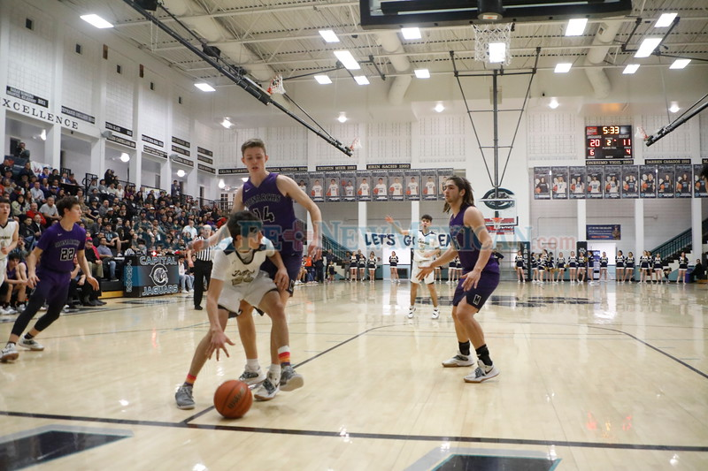 The second quarter of the Santa Fe High School vs Manzano High School at Capital High School on Monday, February 25, 2019. Luis Sánchez Saturno/The New Mexican