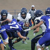 The first quarter of the Santa Fe High School vs St. Michael's High School football game on Friday, August 26, 2016. Luis Sanchez Saturno/The New Mexican