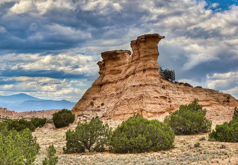 Rock Formation near Chimayo, New Mexico