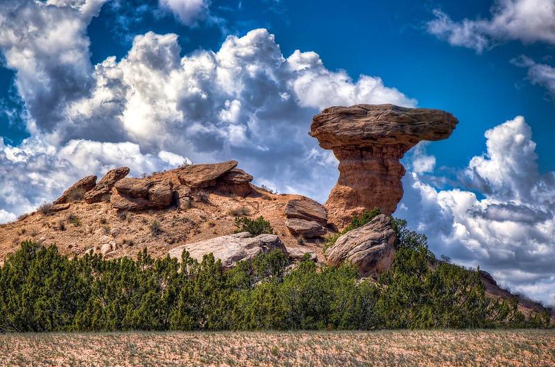 Camel Rock!  Tesuque, New Mexico