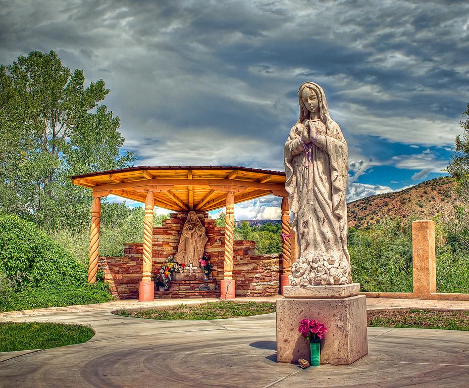 El Santuario De Chimayo. Chimayo, New Mexico