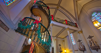 Loretto Chapel with the Magic Staircase