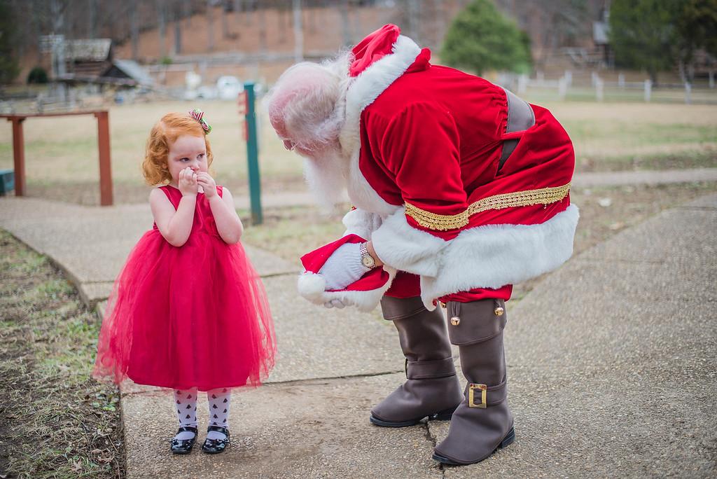 Santa: Museum of Appalachia 2016