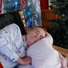 Santa gets a snooze