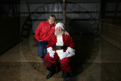 Santa at Stables 11 30 10