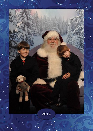 2012-12-21 Santa Pictures Troy Mall