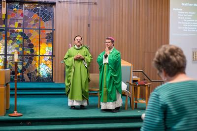 Santa Teresa Parish Visit by Bishop Cantu