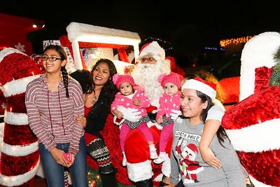 Santa Train - December 14, 2015
