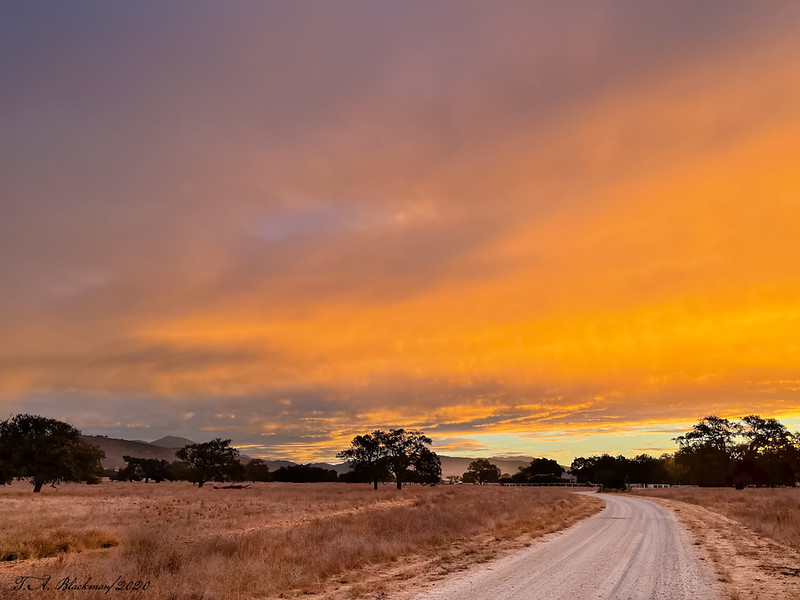 Sunrise Santa Ynez Valley