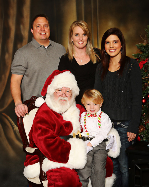 Copyright Release images from CFA Gulf Breeze Santa