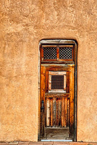 A Small Wooden Door