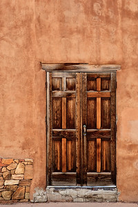 An Old Wood Door