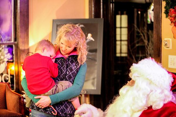 Brenda Family Santa Photos