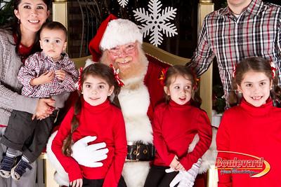 Santa Dec 8-16