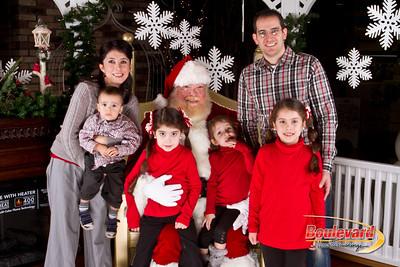 Santa Dec 8-18