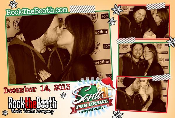 Santacon 2013 Rock the Booth