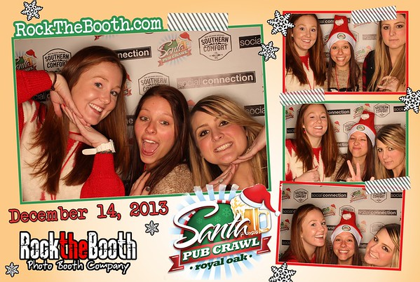 Santacon 2013 - Rock the Booth
