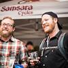 Outside Santa Fe's Beer and Bike 2015