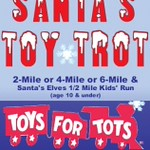 Santa's Toy Trot 2, 4 & 6 Mile Road Races December 11, 2016