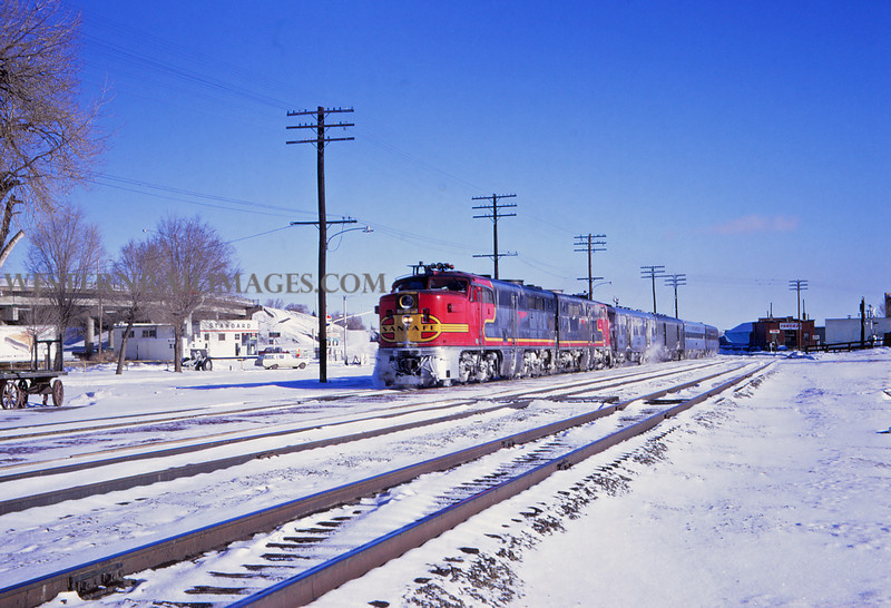 ATSF 63 - Dec 27 1967 - Eng 73-78 on westbound No 23 @ Trinidad Colo - Jim Ozment