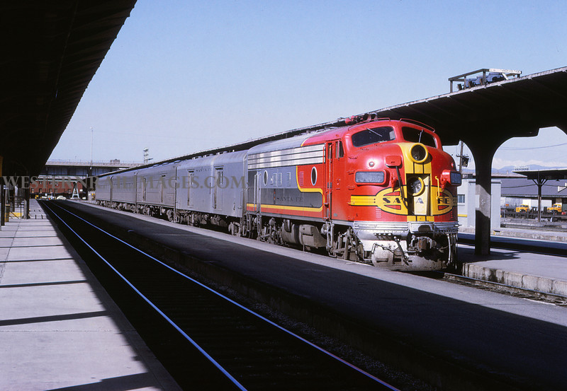 ATSF 145 - May 1 1971 - LaJunta train last trip @ Denver Colo - Jim Ozment